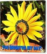 You Brighten My Day Acrylic Print
