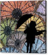You Can Stand Under My Umbrella Acrylic Print