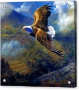 You Cannot Fly Like An Eagle With Wings Of A Wren Acrylic Print