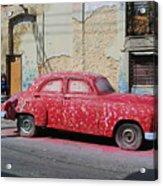 What Happened To My Respray? Acrylic Print