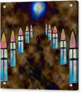 You Pray For Acrylic Print