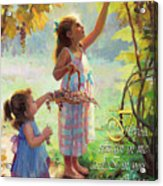 You Will Bear Much Fruit Acrylic Print
