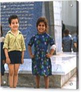 Young Algerians 1969 Acrylic Print