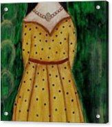 Young Frida Kahlo Series 1 Acrylic Print