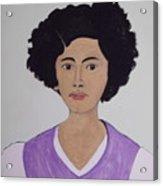 Young Frida Acrylic Print