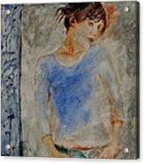 Young Girl 451120 Acrylic Print