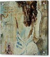 Young Girl  64 Acrylic Print