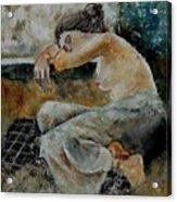 Young Girl  679050 Acrylic Print