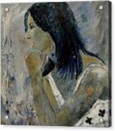 Young Girl Eg569090 Acrylic Print