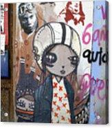 Young Girl Acrylic Print