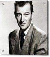 Young John Wayne, Hollywood Legend Acrylic Print