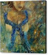 Young Lady 5698 Acrylic Print