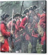 Young Lions French And Indian War  Acrylic Print by Randy Steele