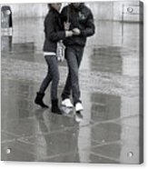 Young Love Under The Weather Acrylic Print