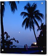 Young Lovers In Penang Acrylic Print