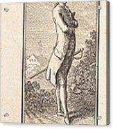 Young Man Bareheaded, With Sword Acrylic Print