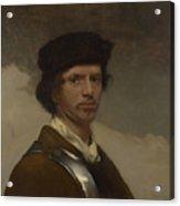 Young Man In A Fur Cap Acrylic Print