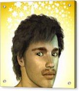 Young Man Acrylic Print
