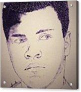 Young Muhammad Ali Acrylic Print