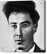 Young Robert Oppenheimer Acrylic Print