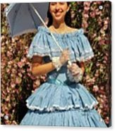 Young Southern Belle Acrylic Print