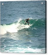 Young Surfers Four Acrylic Print