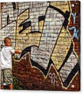 Young Vandal Too Acrylic Print