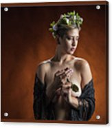 Young Woman Nude 1729.179 Acrylic Print