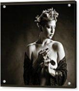 Young Woman Nude 1729.554 Acrylic Print