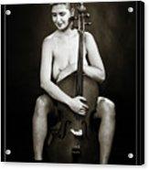 Young Woman Nude 1729.564 Acrylic Print