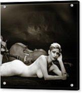 Young Woman Nude 1729.567 Acrylic Print