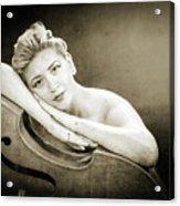 Young Woman Nude 1729.573 Acrylic Print