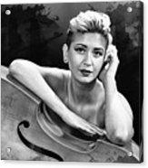 Young Woman Nude 1729.574 Acrylic Print