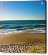 Your Beach Is Calling Acrylic Print