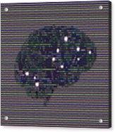 Your Brain On Bad Tv Acrylic Print
