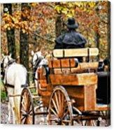 Your Carriage Awaits Acrylic Print