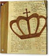 Your God Reigns Acrylic Print