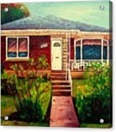 Your Home Commission Me Acrylic Print