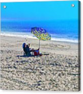 Your Own Private Beach Acrylic Print
