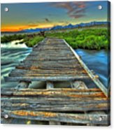 Your Path Lies Before You Acrylic Print