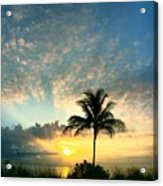 You're Never Alone With A Sunrise Acrylic Print
