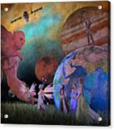 You're Safe In My Hands Acrylic Print
