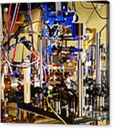 Ytterbium Lattice Atomic Clock Acrylic Print