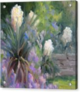 Yucca And Wisteria Acrylic Print