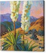 Yuccas Acrylic Print