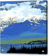 Yukon Mountain Range 3 Acrylic Print