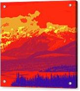 Yukon Mountain Range 4 Acrylic Print