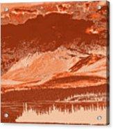 Yukon Mountain Range 5 Acrylic Print