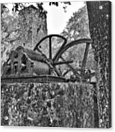 Yulee Sugar Mill Ruins Hrd Acrylic Print