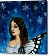 Yuletide Fairy Acrylic Print